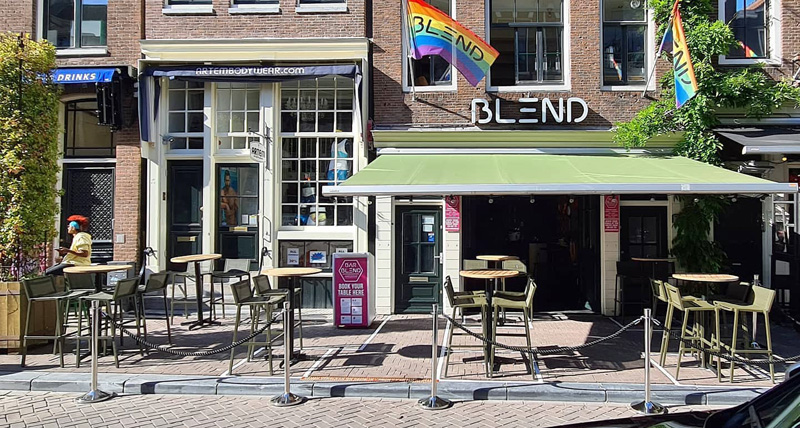 Expanded terrace at Bar BLEND