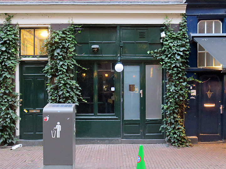 Door 74 in de Reguliersdwarsstraat