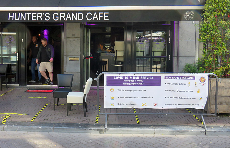New rules at Hunter's Grand Café